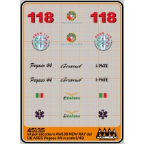 118 Lazio Ares Pegaso 44 - Kit New Ray