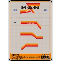M62374 - MAN 19361 yelloe-orange-red